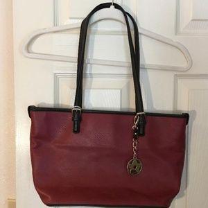 Bueno burgundy shoulder bag